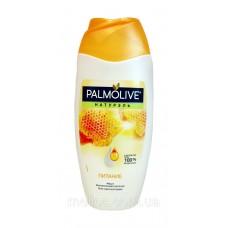 Гель-крем для душа Palmolive с экстрактом меда и увлажняющим молочком 250 мл.