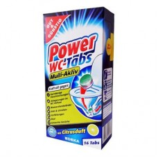 Таблетки для чистки и дезинфекции унитаза G&G Power WC-Tabs 16 таблеток