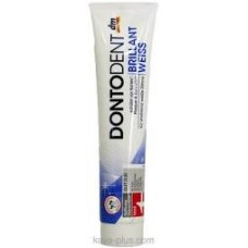 Зубная паста DONTODENT Brillant Weiß  для отбеливания зубов 125 мл.