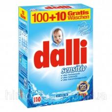 Стиральный порошок dalli 7.15 кг. Sensitive  110 стирок