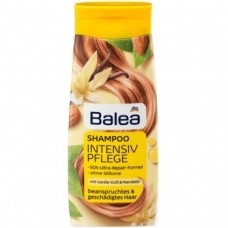 Шампунь Balea для поврежденных волос Ваниль и Миндальное масло 300 мл.