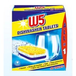 Таблетки для посудомоечных машин W5 44 шт.