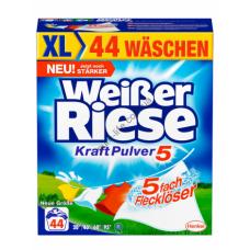Стиральный порошок Weisser Riese 2,42 кг универсальный